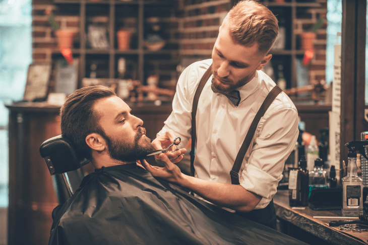 What is the importance of barber shops?